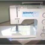 small sewing machine makes big quilt