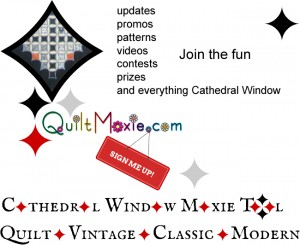 Cathedral Window Moxie Tool by QuiltMoxie . Quilt . Vintage . Classic . Modern