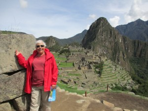 Mom and Machu Picchu