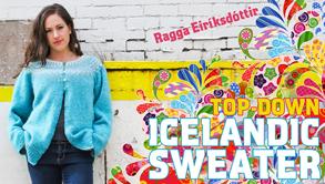 Top-Down Icelandic Sweater